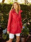 Joules Red Shoreside Waterproof Coat