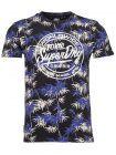 Superdry Bamboo Oriental Blue Super 5's T-shirt