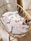 Mayoral ECOFRIENDS Pyjamas & Bib Set for Newborn Girl Mauve