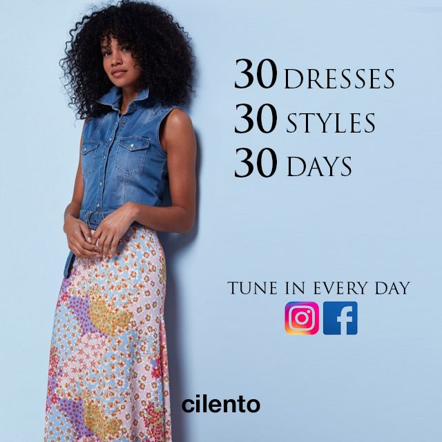 30 DRESSES FOR 30 DAYS...Are You Ready?