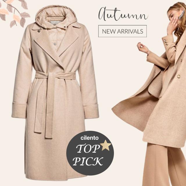 Your NEW Autumn coat awaits you at Cilento!