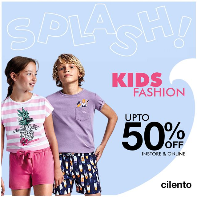 Splash into Summer with the latest kids fashion trends at Cilento.